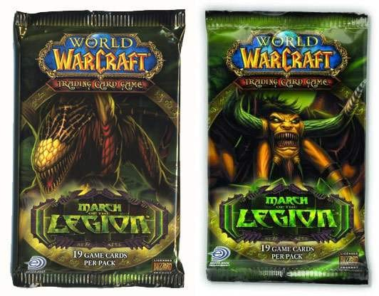 World of Warcraft, le jeux de cartes